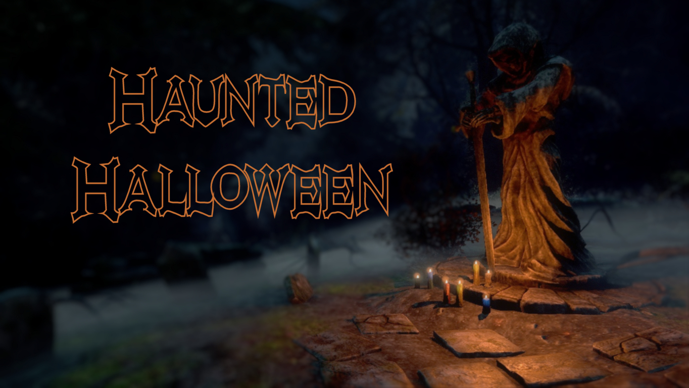 Haunted Halloween:  Spooky Spaces and Creepy Creations Contests